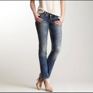 Silver Jeans Berkeley Dark Wash straight leg denim